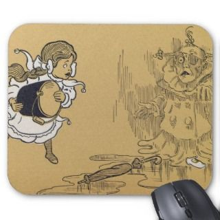 Wizard of Oz Winged monkeys flying monkeys Mousepad