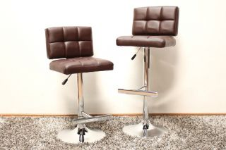 Barhocker 2er Set Speedchair Bar Hocker Stuhl STILT Schwarz Weiß