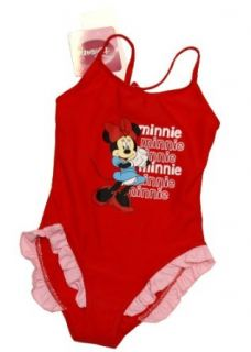 Mickey Mouse Badeanzug MINNIE   SUMMER BEAUTY   rot