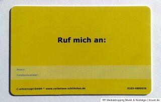 PVC Ortsschild, Fun Schild, Ich liebe Dich 5,5 x 8,5 cm