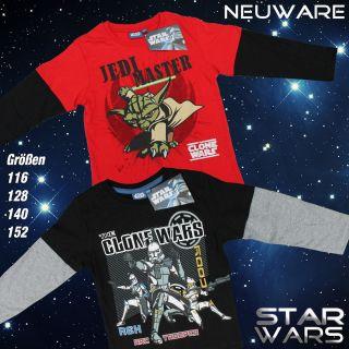 Langarm Shirt The Clone Wars STAR WARS 116 128 140 152
