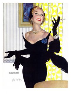 Clever Woman Are Dangerous Too    Saturday Evening Post Leading Ladies, August 5, 1950 pg.32 Giclee Print by Joe deMers