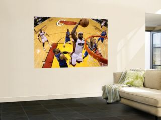 Dallas Mavericks v Miami Heat   Game One, Miami, FL   MAY 31 LeBron James and Tyson Chandler Wall Mural by Mike Ehrmann