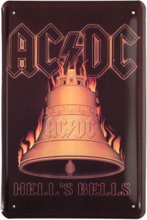 Bells Metallschild 20x30cm Retro Reklame Blechschild 153