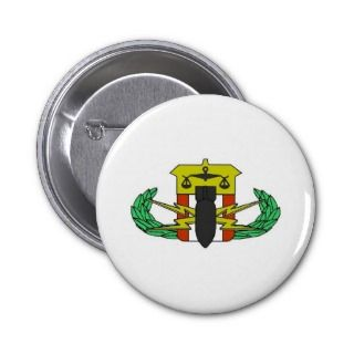 HDT Badge Pinback Buttons