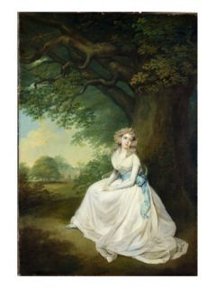 Lady Chambers, C.1789 (Oil on Canvas) Giclee Print by Arthur William Devis