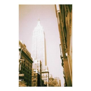 Empire State Building, New York City Stationery Design