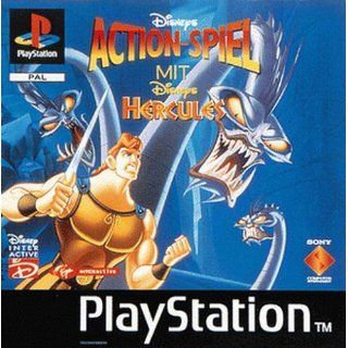 Disneys Hercules   Platinum Playstation Games