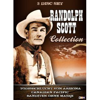 Randolph Scott Collection (3 Filme auf 3 DVDs): Randolph