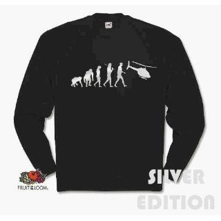 SILBER EDITION HELICOPTER EVOLUTION hubschrauber Sweat Shirt