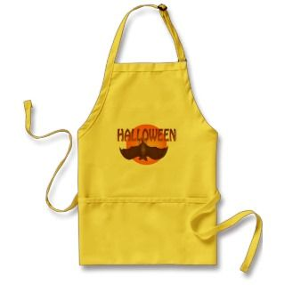 Halloween Bat Just Hangin Apron