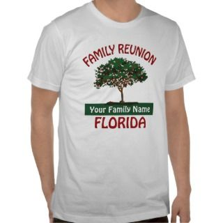 Florida Family Reunion Apple Tree T shirt