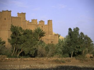 Castle in Morocco Posters by Michael Brown