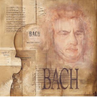 Tribute to Bach Prints by Marie Louise Oudkerk