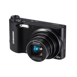 Samsung WB150F 14.2 MP Digitalkamera   Schwarz