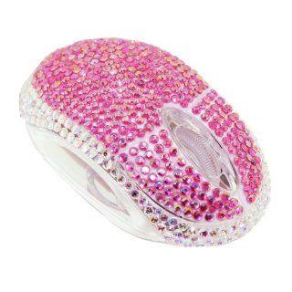 Glitzer Maus   mit Strass besetzte optische Maus für Ladies   Diamond