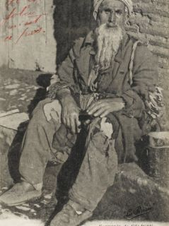 Sofou, a Turkish Beggar from Adana, Cilicia, Turkey Photographic Print