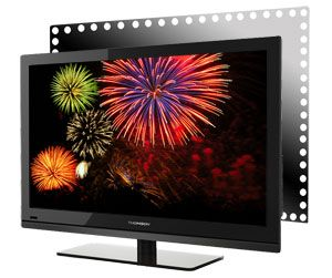 Thomson 40FT4253 101,6 cm (40 Zoll) LED Backlight Fernseher, EEK A