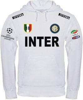 FELPA INTER CHAMPIONS LEAGUE t shirt maglietta maglia calcio serie A