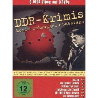 DDR Krimis 6 Filme   3 DVDs / Razzia, Treffpunkt Aimee, Schwarzer Samt