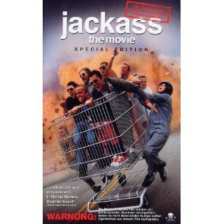 Jackass The Movie [VHS] Johnny Knoxville, Bam Margera, Chris Pontius