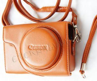 Leder Tasche Kameratasche Etui für Canon Powershot SX120 SX130 SX150