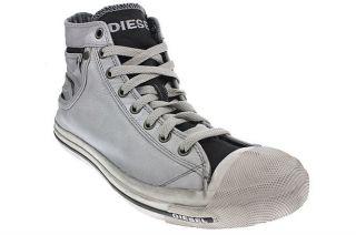 Diesel Magnete Exposure Men   Schuhe Sneaker   White/Black 00Y833PR680
