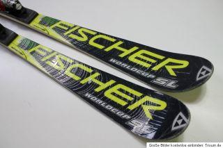 Fischer Worldcup RC 4 R Tune Ski länge 166 cm mit Salomon 916 Bindung