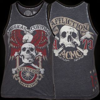 Affliction Tank Top Jolly Roger 167 SW XXL