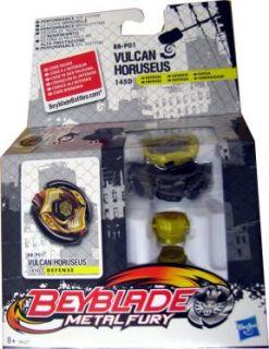 Beyblade Metal Fury Vulcan Horuseus BB P01 Abwehr   NEU