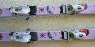 ROSSIGNOL FUN GIRL Mädchen Ski + Saphir 70S   2012