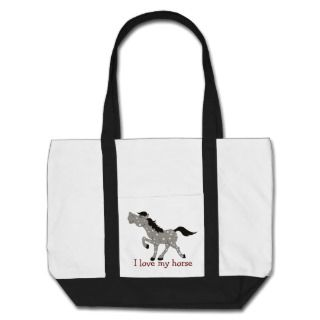 BLUE ROAN APPALOOSA HORSE Lover TOTE BAG