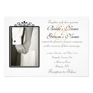 Wedding Hands Personalized Announcement