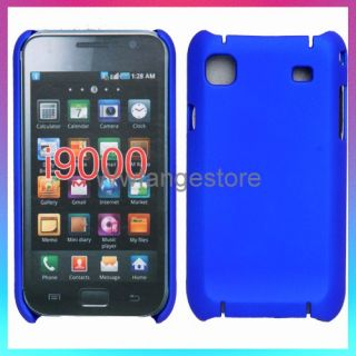Blue Hard Back Case Cover For SAMSUNG i9000 GALAXY S