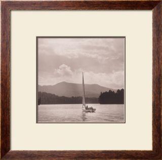 Upper St. Regis Lake Prints by Michael Kahn