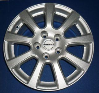 BORBET PS 7 (wintertauglich) silber in 7,0 x 16   ET 40__Audi A4