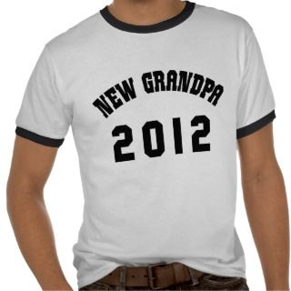 New Grandpa 2012 Shirt