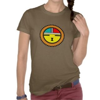 native american sunface symbol tee shirt t shirt