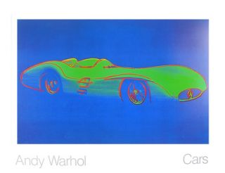 Andy Warhol Cars Formula I Car W 196 R Bj. Poster Kunstdruck Bild