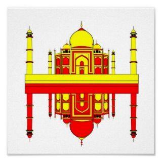 Taj Mahal Inspiration Poster