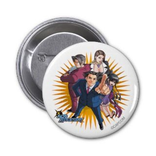 Phoenix Wright Key Art Buttons
