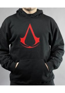 Assassins Creed Emblem Logo Pullover Hoodie XBOX 360 PS3 PC NEU OVP