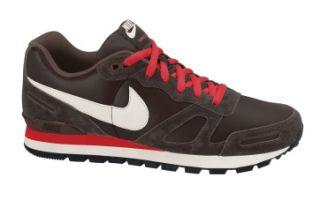 Nike Air Waffle Trainer Leather Schuhe Braun Rot NEU