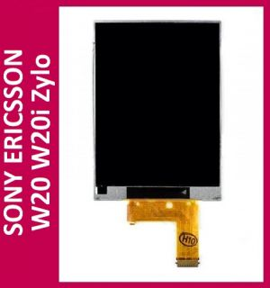 Original Sony Ericsson W20i W20 Zylo LCD Display Screen