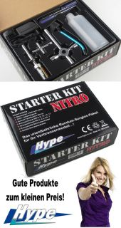 HYPE Starter Set / Kit Nitro Heater Tools Lader 082 5040
