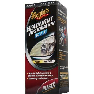 G1900DE Headlight Restoration Kit, PlastX Clear Plastic & Polish 118