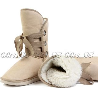 38 39 Size New Fashion Womens Girls Winter Warm Snow Boots Shoes Free