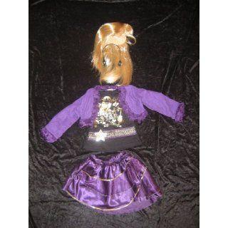 Disney Hannah Montana Kostüm + Perücke 122 128 Spielzeug