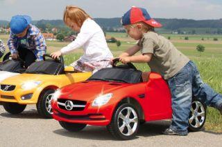 Kinder Elektroauto   Jamara Ride on Mercedes Benz SLK 27MHz