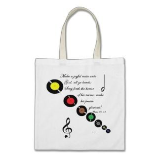 Make a joyful noise tote Bag